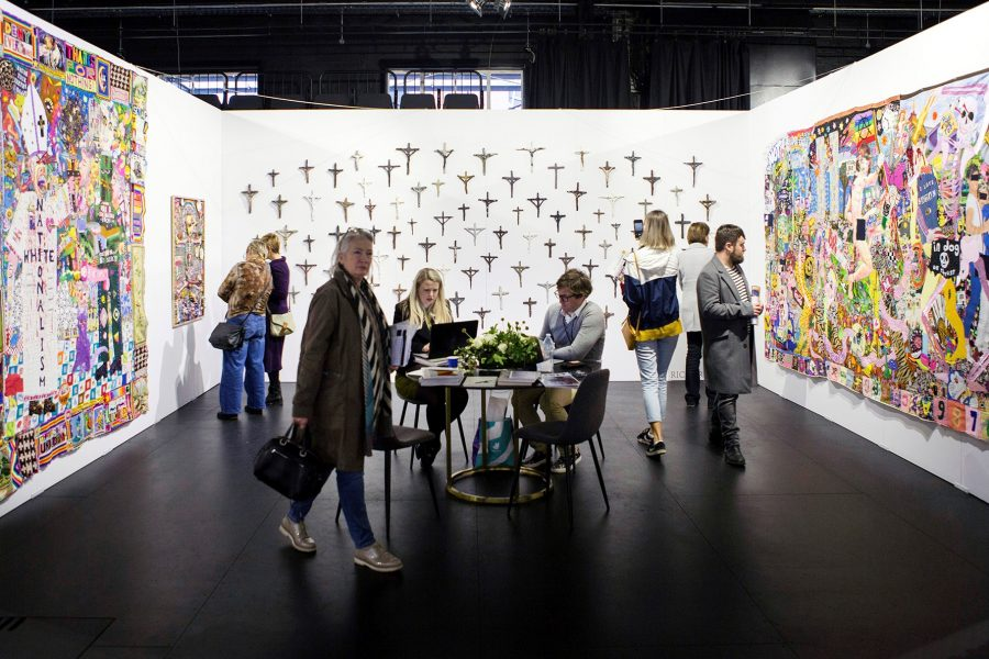 Melbourne Art Fair 2018, Hugo Michell Gallery (Adelaide), installation view